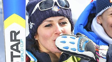 Nadia Fanchini - Mondiali di Sci discesa libera femminile